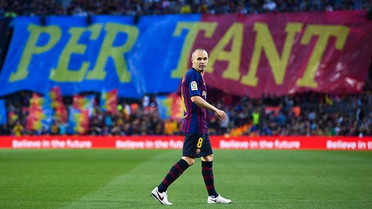 Andres Iniesta Barcelona Spain