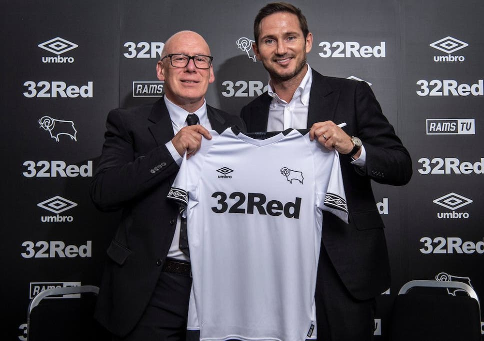 Derby unveil Lampard