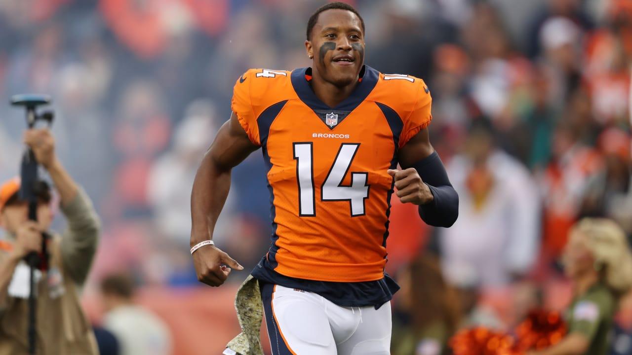 The Denver Broncos select Courtland Sutton