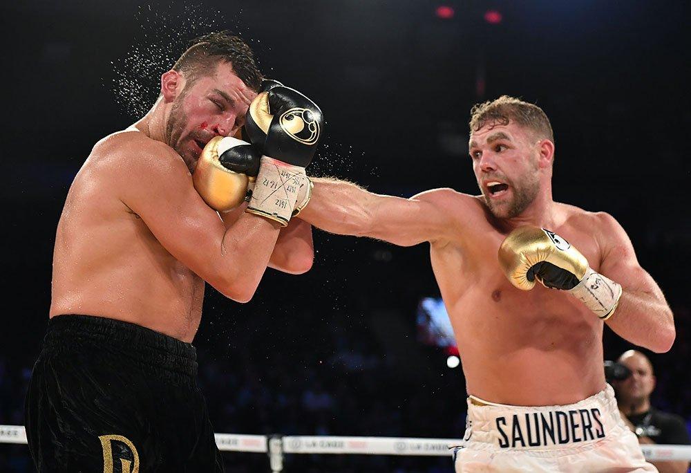 Saunders beats Lemieux
