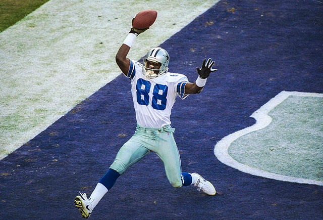 Cowboys receiver Michael Irvin