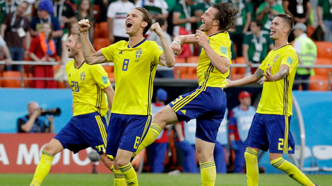 Sweden into the quarter finals