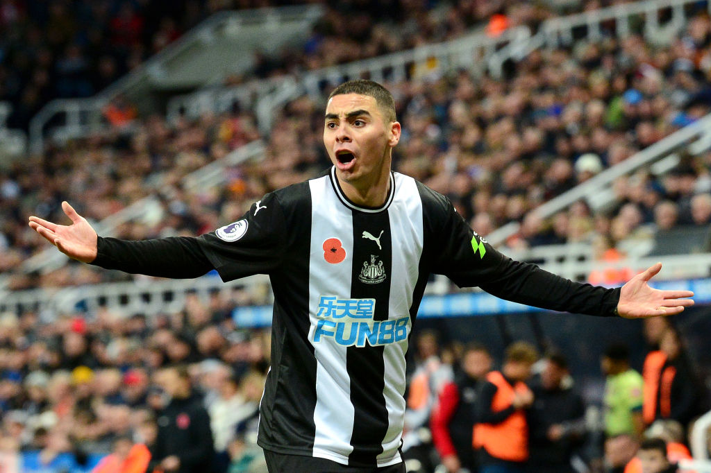 Newcastle united Miguel Almiron