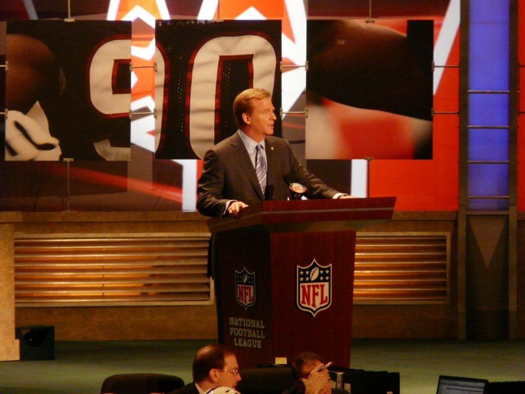 NFL Commissioner Roger Goodell at 2009 NFL Draft