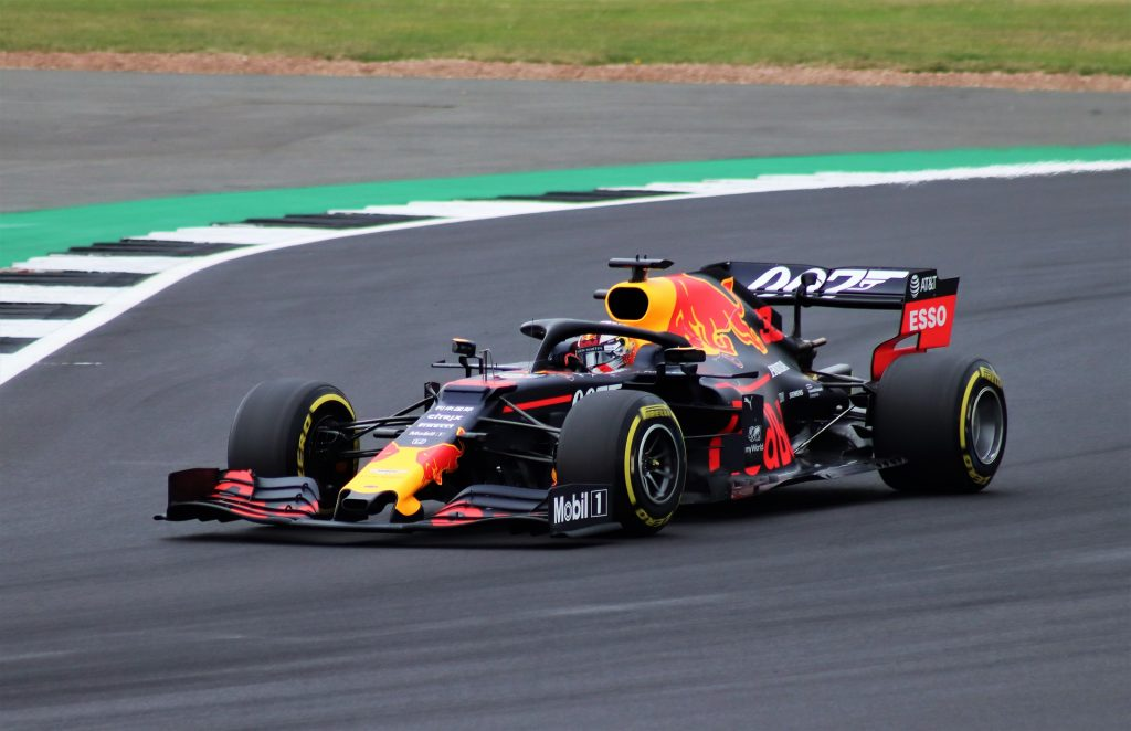 Red Bull F1 Car driven by Max Verstappen