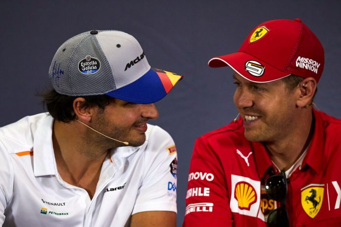 F1, Vettel, Sainz, Ferrari
