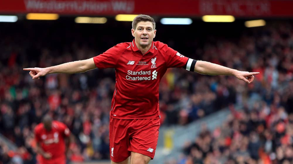Steven Gerrard has won everything at club level except the Premier League