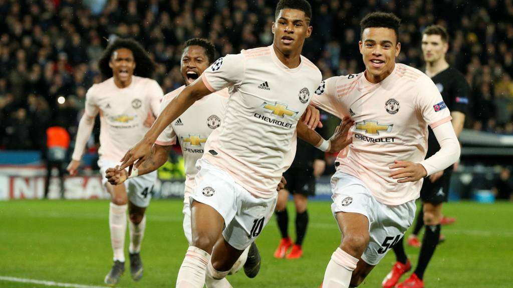 Manchester united are coming off a stunning win in Paris
