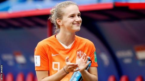 Dutch Miedema scores a brace