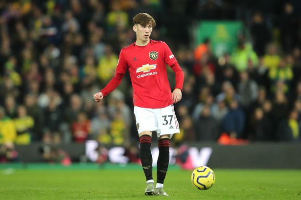 United youngster James Garner