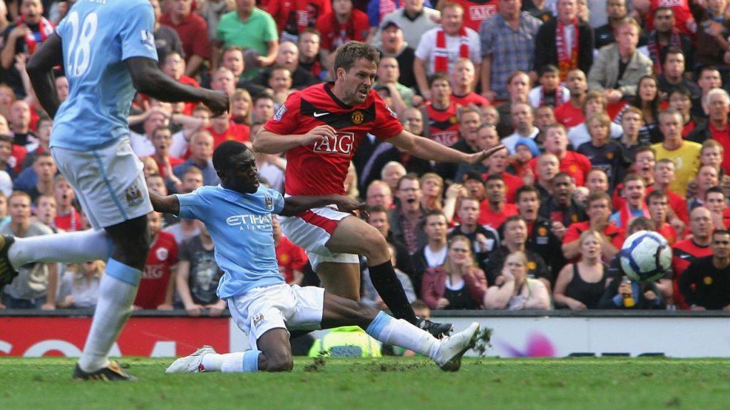 Manchester Derby legend