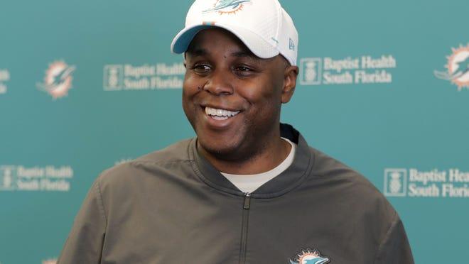 Miami Dolphins GM Chris Grier
