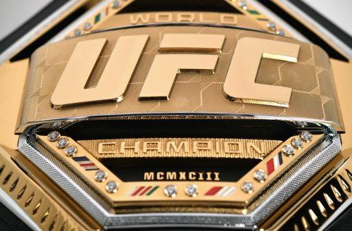 UFC Championship Belts