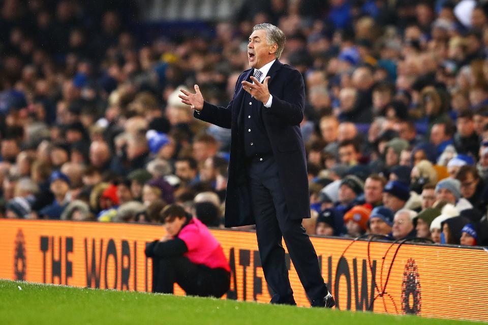 Everton manager Ancelotti