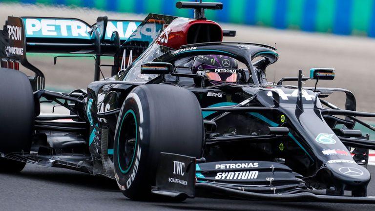 Lewis Hamilton fastest in Hungarian GP FP1