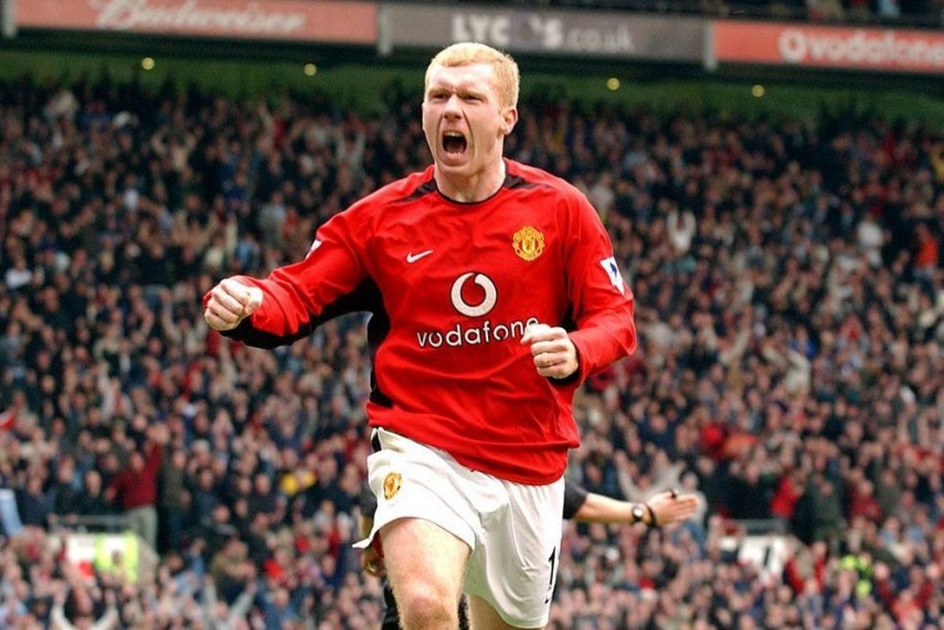 Paul Scholes played his entire career at United