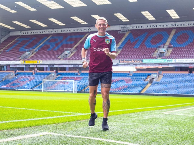 Scott Cunliffe is running to every Burnley game
