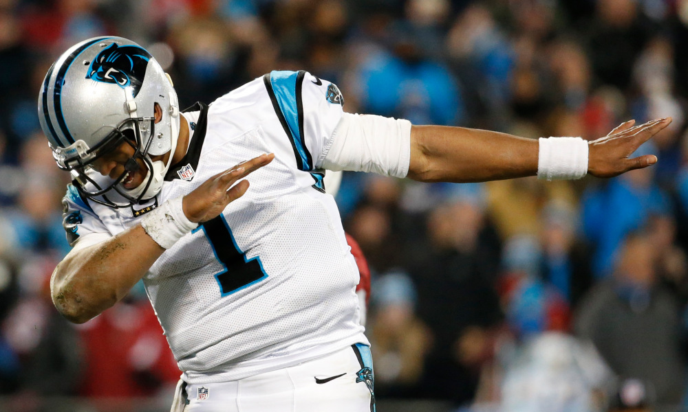 Cam Newton can be a little cocky at times, but he can sure ball © Jason Getz-USA TODAY Sports