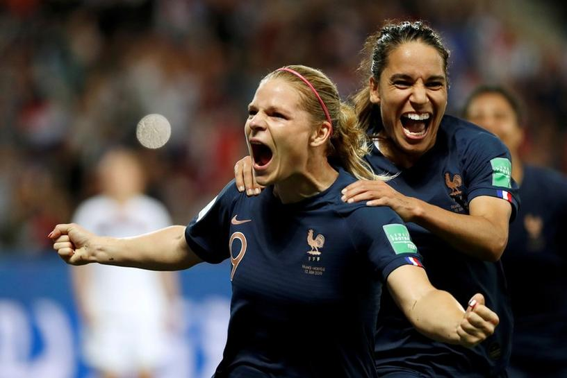 WWC: France Beat Norway