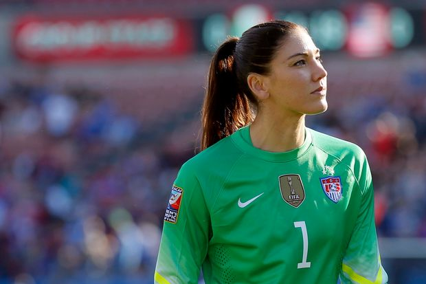 Hope Solo no to smaller goals