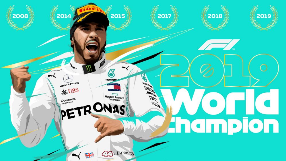 2019 was a good year for Lewis Hamilton