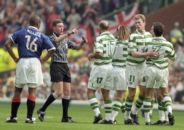 Old Firm games go back a long way