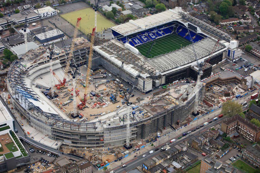 New Stadiums devour old