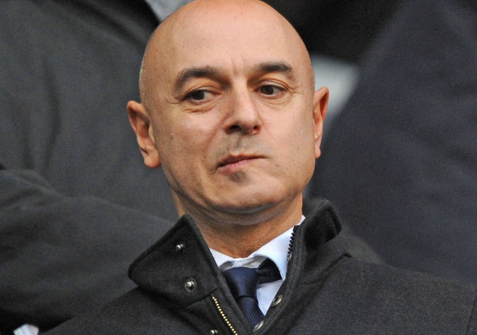 Daniel Levy is not a happy man