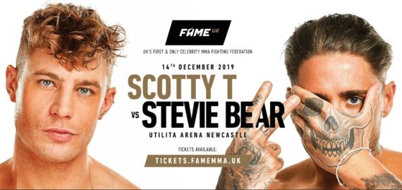 Scotty T v Stevie Bear is off