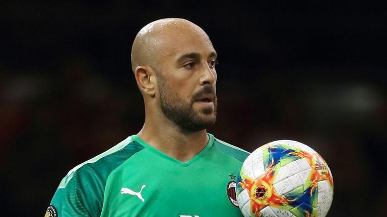 Aston Villa Pepe Reina