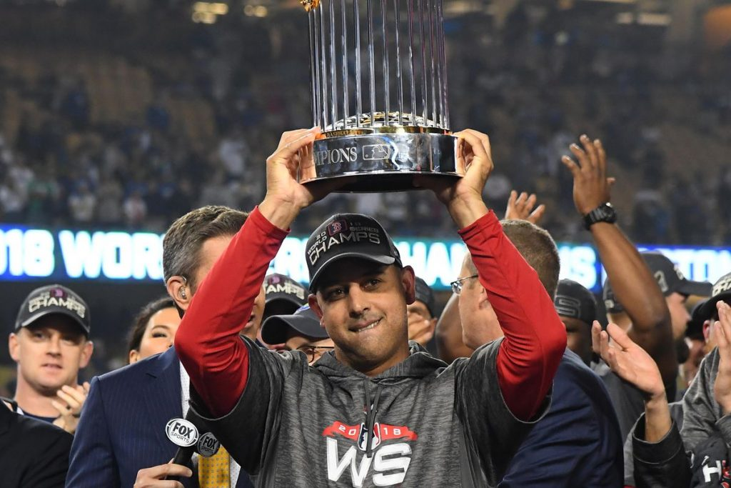 Alex Cora should be done in MLB