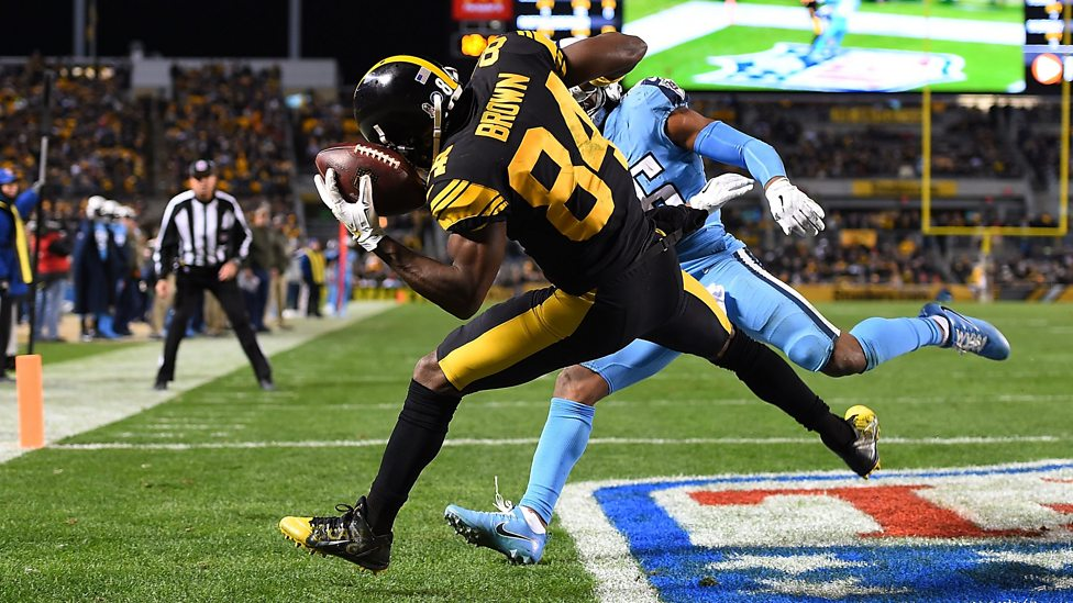 Antonio Brown is as explosive on the field as any receiver in the game