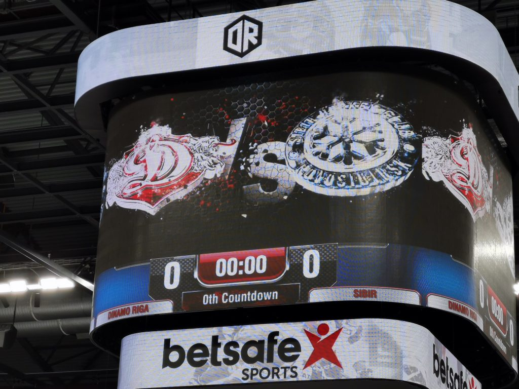 First Period: I've always been a bit obsessed with Dinamo Riga
