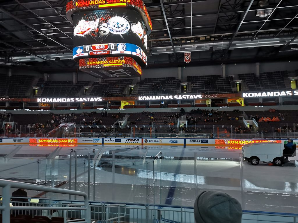 First Period: Hockey trip to Riga