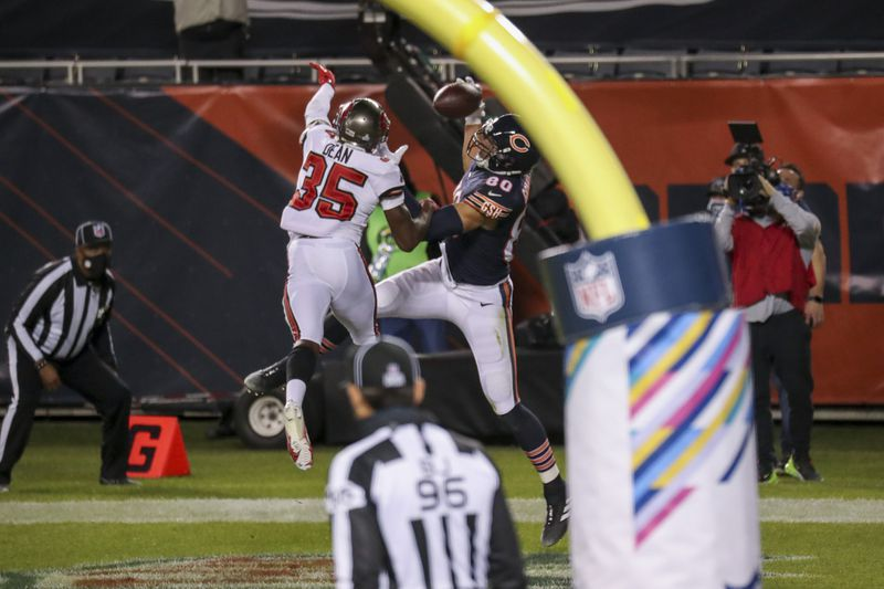 Jimmy Graham's first half TD inspires Bears 1 point win