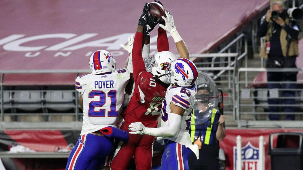 DeAndre Hopkins Hail Mary catch is a miracle