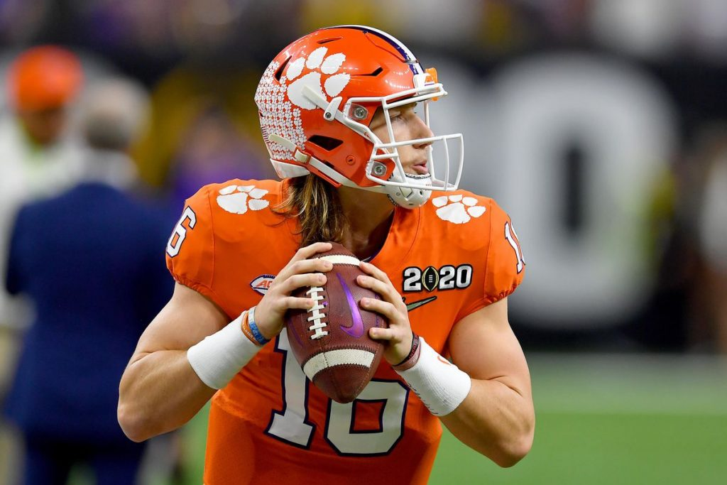 Trevor Lawrence is touted as the next great NFL Quarterback
