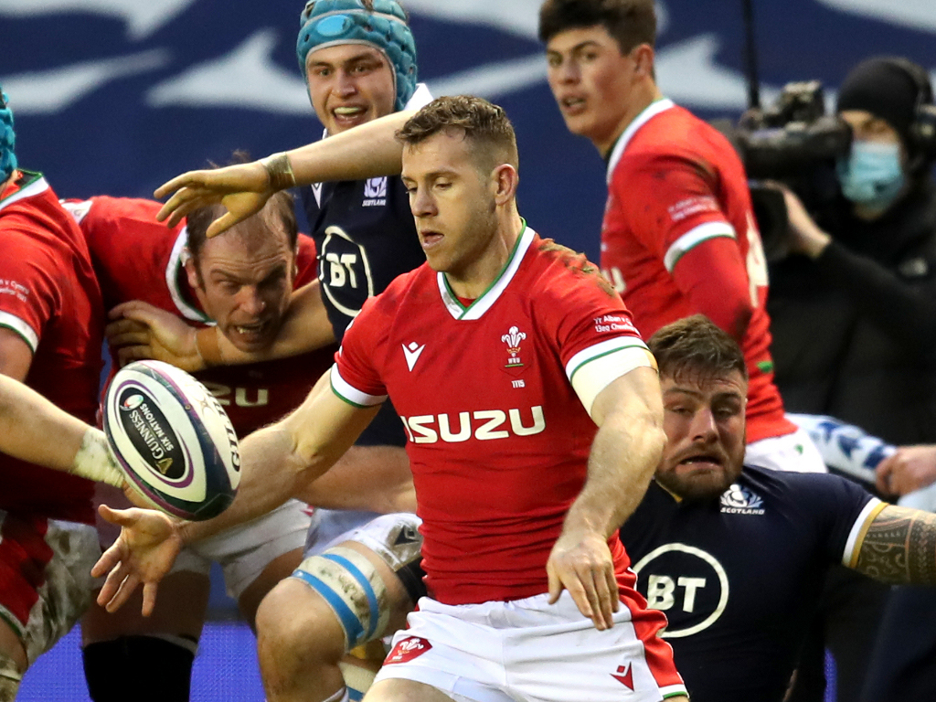 Wales Rugby Gareth Davies