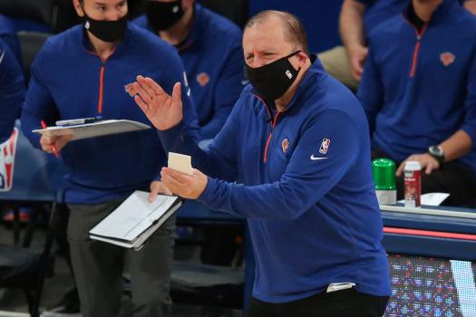 Knicks Coach Thibodeau